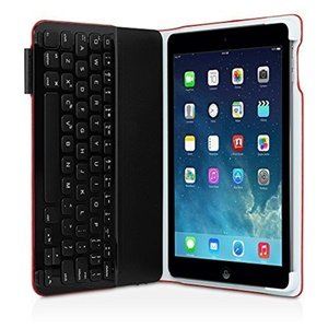 Logitech Red Ultrathin Keyboard Folio Model 920-006165 by Logitech