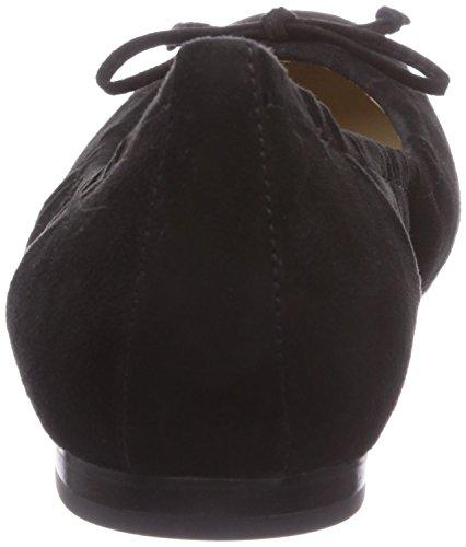 Högl 9-101502 - Bailarinas de terciopelo para mujer negro - Schwarz (0100)