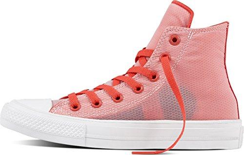 Converse , Baskets pour femme rouge rouge