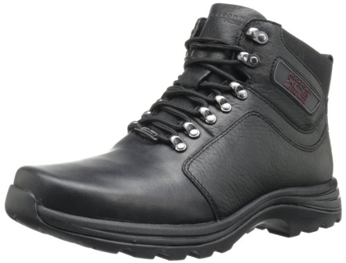 Rockport Men's Elkhart Snow Boot-Black-7 W