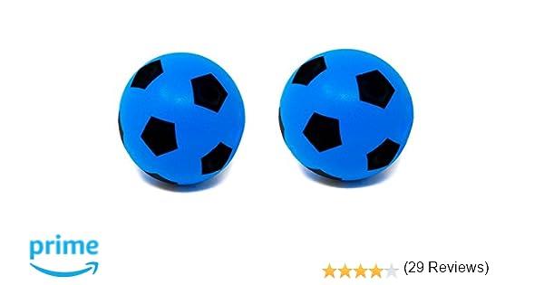 Ballon de football en mousse Taille 5, Two 20cm Blue: Amazon.es ...