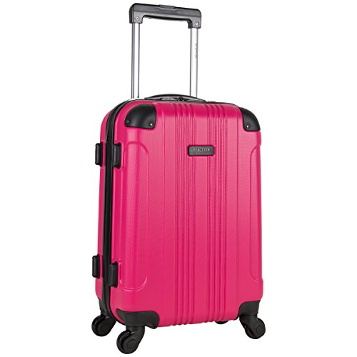 Kenneth Cole Reaction Out Of Bounds 20-Inch Carry-On Lightweight Durable Hardshell 4-Wheel Spinner Cabin Size Luggage (Best Light Spinner Luggage)