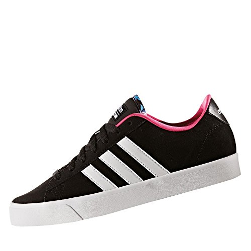 adidas CLOUDFOAM DAILY QT W - Zapatillas deportivas para Mujer, Negro - (NEGBAS/FTWBLA/ROSIMP) 38