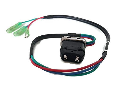 Boat Outboard Motor ITACO 703-82563-02-00 703-82563-01-00 Trim & TILT Switch A for Yamaha Outboard Motors Remote Control 703-82563-02 703-82563-01 Engine