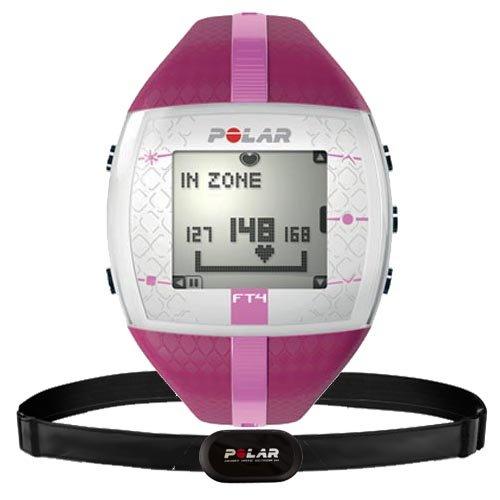 Polar Bike computer with heart monitor FT4F purple pink