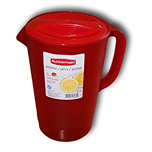 Rubbermaid Gallon Pitcher - Red