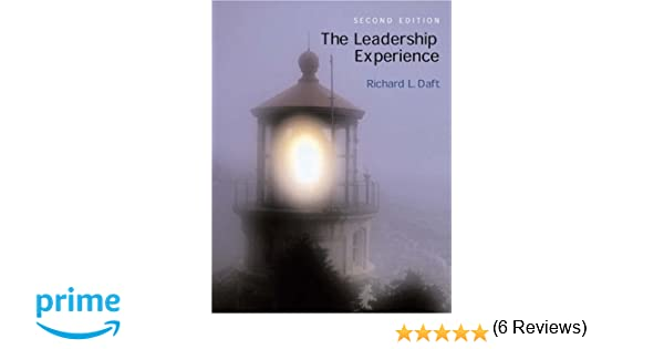The leadership experience richard l daft 9780030335723 amazon the leadership experience richard l daft 9780030335723 amazon books fandeluxe Gallery