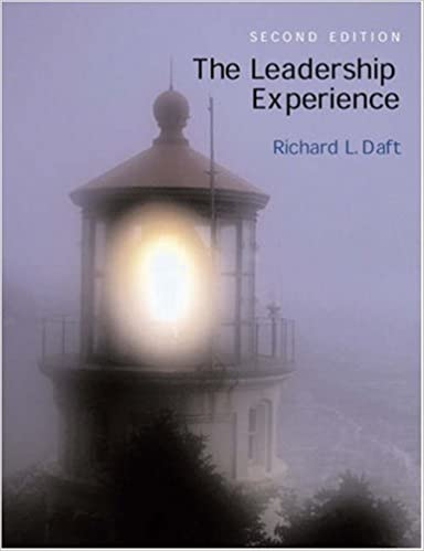 The Leadership Experience: Richard L  Daft: 9780030335723