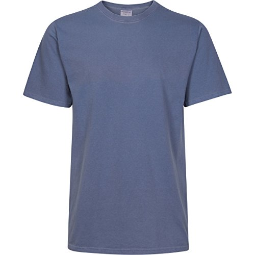 Have It Tall Mens Pigment Dyed Poly/Cotton Blend T Shirt