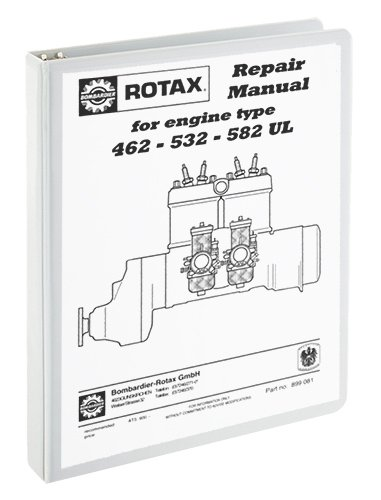 amazon com rotax 462 532 582 repair manual everything else rh amazon com Rotax Aircraft Engines 787 Rotax Engine Diagram