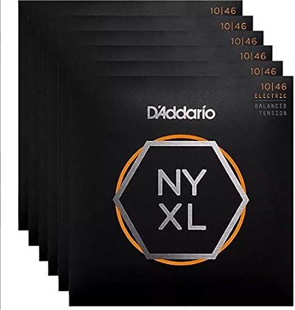 10-46 D'Addario NYXL1046BT Nickel Wound Balanced Tension