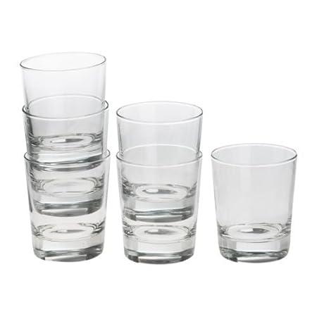 IKEA GODIS bicchiere in vetro trasparente 6 pz 23 cl