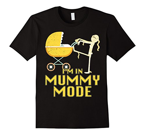 Mens mom in Mummy mode Halloween T shirt Small (80's Themed Costume Ideas For Men)