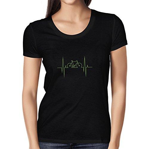 NERDO – Bike Heartbeat – Dames T-Shirt