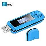 Portable USB MP3 Player AGPTEK U3 Recording FM Radio