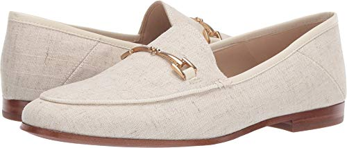 Sam Edelman Women's Loraine Shoe, Natural Linen, 8.5 M US