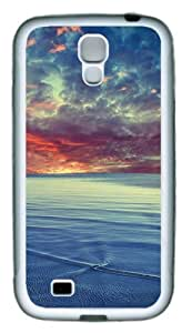 Samsung Galaxy S4 Case and Cover - Baltic SeaTPU Silicone Rubber Case Cover for Samsung Galaxy S4 / SIV/ I9500 - White