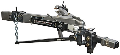 ght Pin Trunnion Bar Weight Distribution Hitch with Sway Control and Ball ()