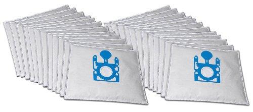 20 sacs d'aspirateur de qualité supérieure adaptés à l'aspirateur Bosch GL 30 BSGL 30 000 – 39 999