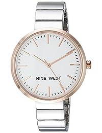 Nine West NW1987SVRT Reloj de Diseñador para Mujer
