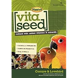 HIGGINS 466150 Vita Seed Food for Birds, 25-Pound