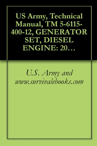 Conditioning Air 3 Phase (US Army, Technical Manual, TM 5-6115-400-12, GENERATOR SET, DIESEL ENGINE: 200 KW, 60 HZ, AC, 120/208 V, 240/416 V, 3 PHASE, CONVERTIBLE TO 167 KW, 50)