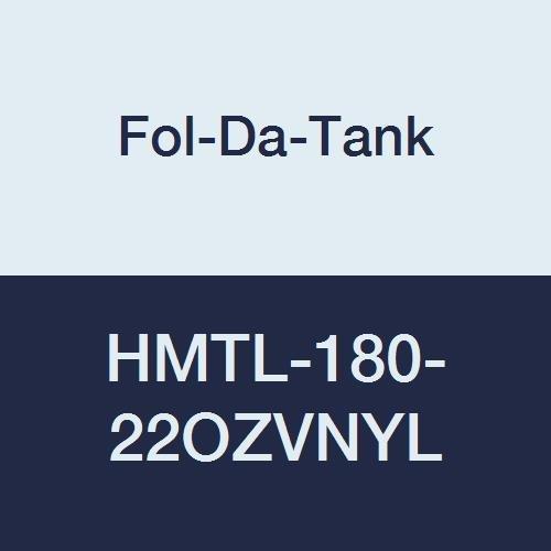 Vinyl 4 x 4 x 18 22 oz Fol-Da-Tank HMTL-180-22OZVNYL Decon Pool Liner