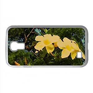 Flower Watercolor style Cover Samsung Galaxy S4 I9500 Case (Flowers Watercolor style Cover Samsung Galaxy S4 I9500 Case)