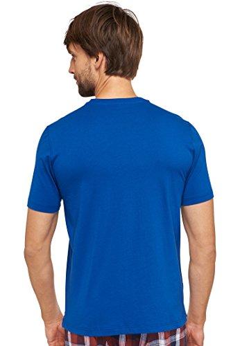 Schiesser 152184 - Herren T-Shirt / Schlafanzugoberteil / Unterhemd Mix & Relax Gr. 46