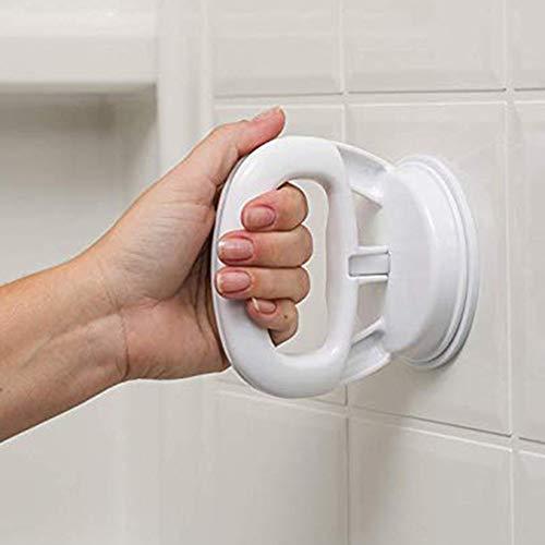 (Euone  Suction Chuck Handrail, Bath Safety Handle Suction Cup Handrail Grab Bathroom Grip Tub Shower Bar Rail)