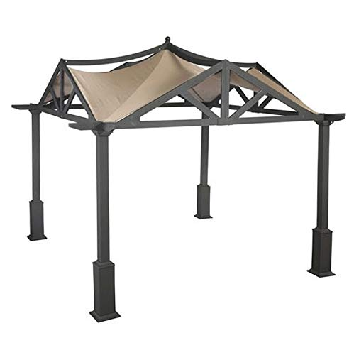 APEX GARDEN Replacement Canopy Top for Lowe's 10 ft x 10 ft Gazebo #GF-12S039B / GF-9A037X by APEX GARDEN (Image #4)