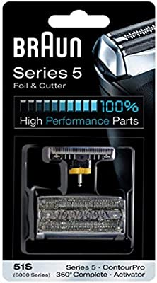 Braun 8000 360 Complete Foil and Cutter Block for Models 8995 ...