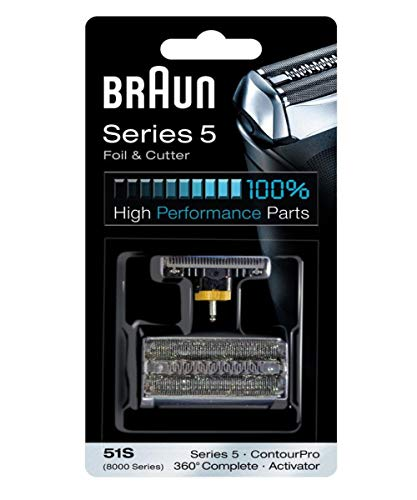 Braun Series 5 Combi 51s Foil And Cutter Replacement Pack by - Braun Foil 8000
