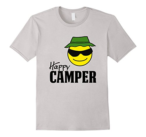 Camper Smiley Camping Outdoors T Shirt product image