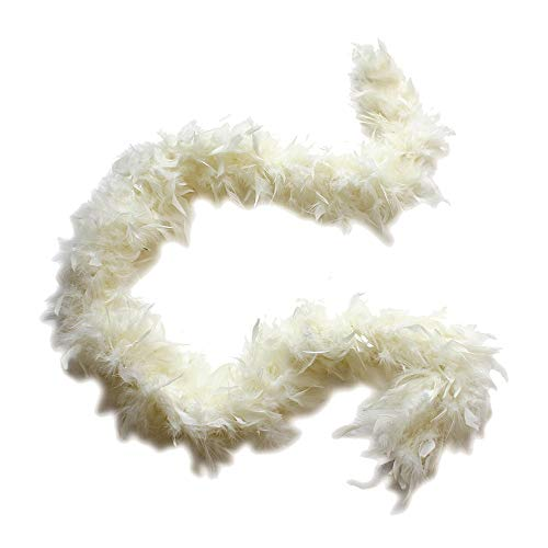 Cynthia's Feathers 100g Chandelle Feather Boa (Ivory)