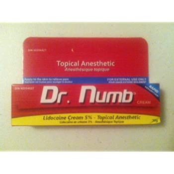Amazoncom 4 Tubes Of Dr Numb Maximum Topical Anesthetic Anorectal