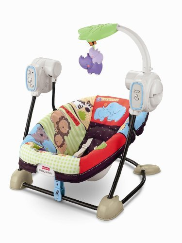 Luv U Zoo Spacesaver Baby Seat and Swing by AytraBaby