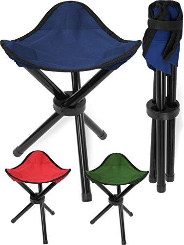 Klapphocker Dreibein in verschiedenen Farben Farbe Blau Größe 1 Stück
