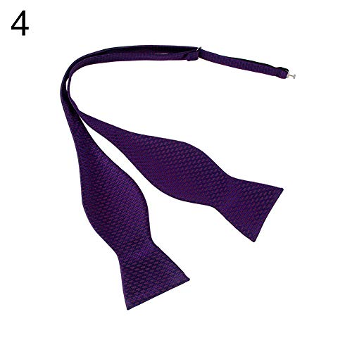 yanbirdfx Men Adjustable Self Bow Ties Necktie Neckwear Business Wedding Party Supplies - 12 by yanbirdfx (Image #5)