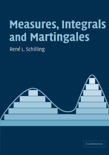 Measures, Integrals and Martingales by Ren? L. Schilling (2006-01-16)