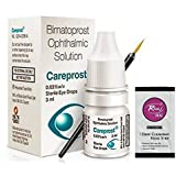 Careprost For Lengthen Eyelashes And Eyebrows With Free Rivaj UK Charcoal Nose Strip