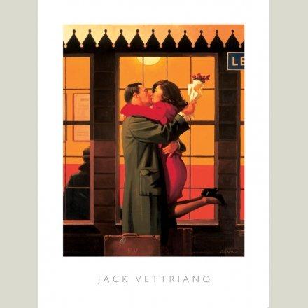 60x80 Mad Dogs premium open edition print Jack Vettriano