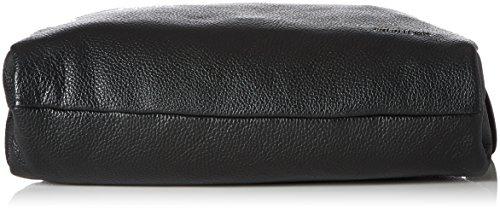 Mandarina Duck Mellow Leather Tracolla, Borse a spalla Donna Nero