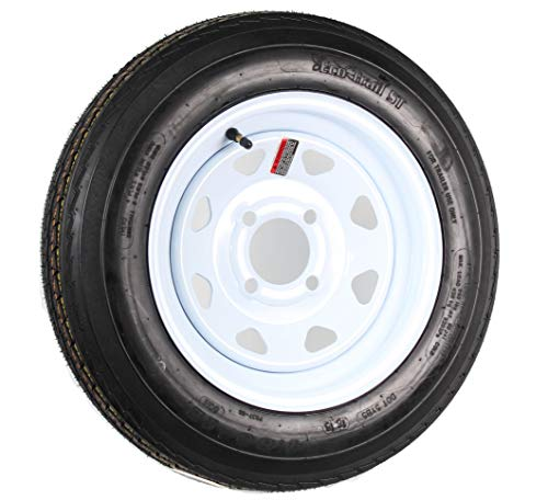 Martin Wheel AMRM-DM412B-4I 4.80 x 12 Trailer Tire & Rim Assembly 480 Series 4 Lug