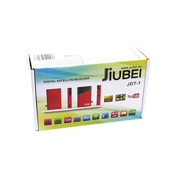 41G oJWCSAL Haz clic aquí para comprobar si este producto es compatible con tu modelo Por favor NO COMPRES este aparato si no sabes para que sirve.SOLO abre canales LIBRES o FTA. No abre canales codificados. Nuevo Receptor de Satelite HD con chipset de ultima generacion.