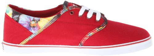 Etnies Caprice Eco Women Low-Top Vulcanized Red Red