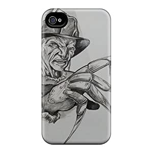 Iphone 4/4s Nkn9973OUUa Support Personal Customs Realistic Freddy Krueger Skin Shockproof Hard Cell-phone Case -TimeaJoyce