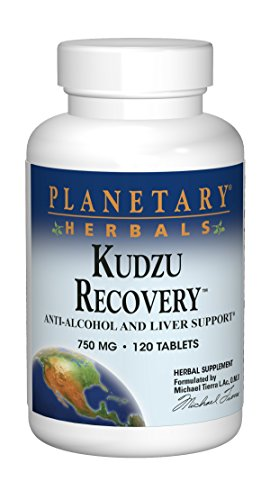 Planetary Herbals Kudzu Recovery, 750 mg, Tablets, 120 tablets