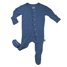 KicKee Pants Baby-Boys Footie Pajama- Twilight, 6-12 Months