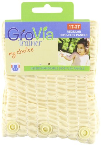 GroVia My Choice Side-Flex Panels Regular for My Choice Trainer, Vanilla